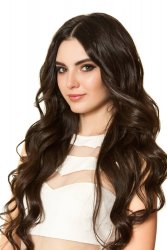 #2 Donkerbruin, 40 cm, Clip-in Extensions