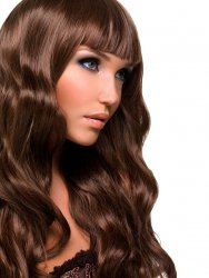 #6 Gemiddeldbruin, 60 cm, Double drawn Tape Extensions