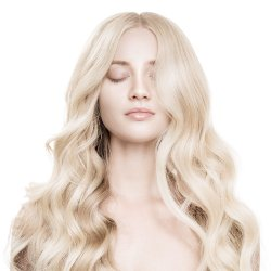 #6001 Extra lichtblond, 60 cm, Loop Extensions